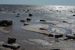 Stones on the beach Stock Photos