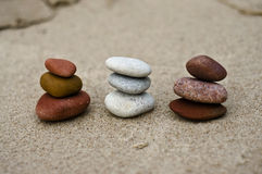 Stones on the beach Royalty Free Stock Image