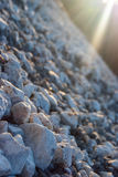 Stones on the beach Stock Photography