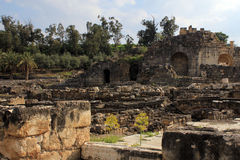 Stones of Beit Shean Stock Photos