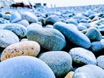 Stones on the Black Sea coast. Stones on the Black Sea royalty free stock image