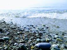 Stones on the Black Sea coast. Stones on the Black Sea stock photos