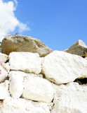 Stones and blue sky Royalty Free Stock Photo