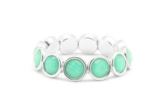 Stones bracelet Royalty Free Stock Images