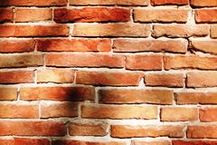 Stones brick background with shadow Stock Image