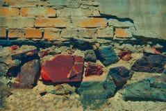 Stones brick texture Stock Images