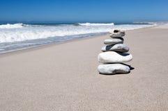 Stones on beach Royalty Free Stock Image