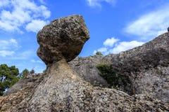 Stones in Ciudad Encantada forest in Spain. Stones in Ciudad Encantada forest in Spain, Europe Stock Images