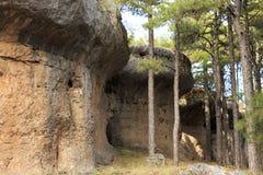 Stones in Ciudad Encantada forest in Spain. Stones in Ciudad Encantada forest in Spain, Europe Royalty Free Stock Image