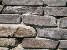 Stones. Close up a stone wall Royalty Free Stock Images