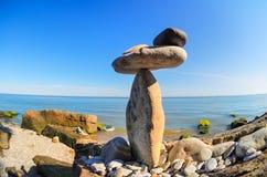 Stones on coast Royalty Free Stock Photos