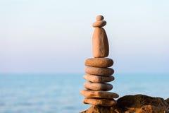 Stones on coast Stock Photography
