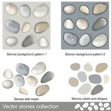 Stones collection Stock Photo