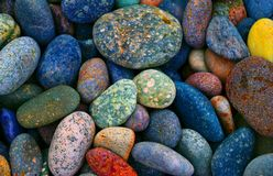 Stones. And colours Royalty Free Stock Photography