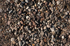 Stones in different colors / texture background Royalty Free Stock Images