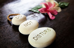 Stones Do Not Disturb Royalty Free Stock Photo