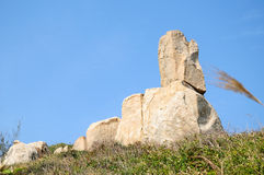 The stones in Dongao Island Royalty Free Stock Image