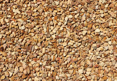 Stones and dried leaves texture background Royalty Free Stock Image
