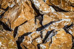 Stones for Exterior Decoration Stock Photography