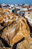Stones for Exterior Decoration Stock Images