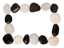 Stones frame stock photos