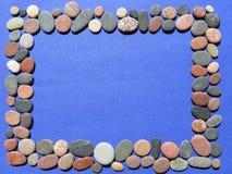 Stones frame Stock Image