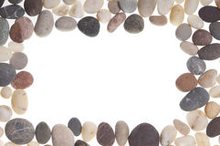Stones frame. Stock Photos