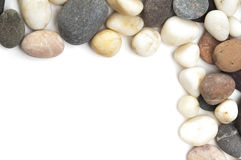 Stones frame. Royalty Free Stock Images