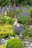 Stones garden Stock Images