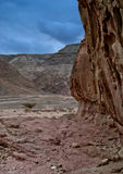 Stones of Geological Park Timna Royalty Free Stock Image