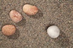Stones on a granite gravel Royalty Free Stock Photo