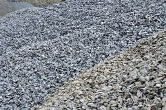 Stones gravel background Stock Photography