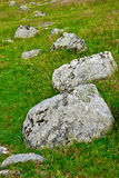 Stones on the Ground Royalty Free Stock Photography
