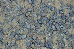 Stones on the ground Royalty Free Stock Image
