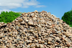 Stones hill Stock Image