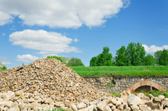 Stones hill Royalty Free Stock Photography