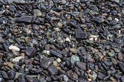 Stones on the Hin nam beach, Lipe, Thailand Stock Photos