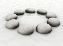 Free Stones In Circle Stock Photos - 11733983