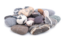 Stones isolated Royalty Free Stock Photography