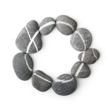 Stones isolated Stock Image