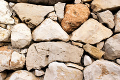 The Stones Of Israel. Texture large stone masonry in Israel royalty free stock image