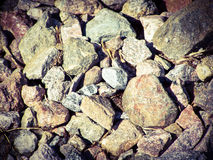 Stones. Just some stones I found at the beach, not the rolling stones though. I used my Kodak for this picture Royalty Free Stock Photo