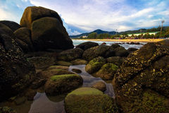 On stones of Karon Stock Photography