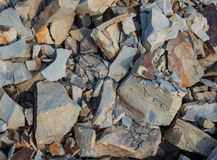 Stones with a keen edge Royalty Free Stock Photos
