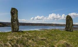 Stones  Kensaleyre Stock Photography