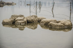 Stones and Lake Royalty Free Stock Image