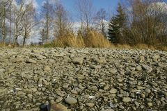 Stones landscape Royalty Free Stock Photos