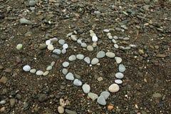 Stones Love Stock Photography