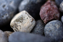 Stones macro Royalty Free Stock Images