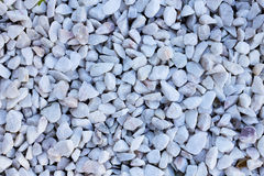 Stones. Many decorative stones scattered on the ground Royalty Free Stock Photography